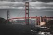 The main landmark of San Francisco - Golden Gate Bridge, California