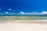 tropical beach in Sri Lanka . Summer holiday and vacation concept for tourism. - 257499399