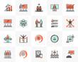 Business Training Futuro Next Icons Pack - 257515181