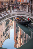 Narrow and picturesque canals of Venice