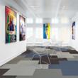Painting exhibition (detail) - 3d visualization