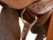 canvas print picture - Reitsport Sattel Westernsattel Pferd reiten
