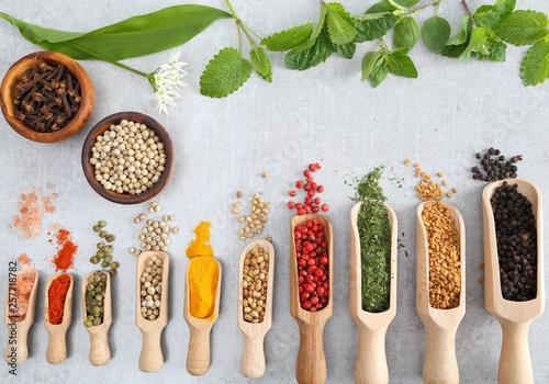 Spices and herbs. © Profotokris