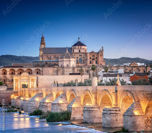 Roman Bridge and Guadalquivir river, Great Mosque, Cordoba, Spain © Horváth Botond