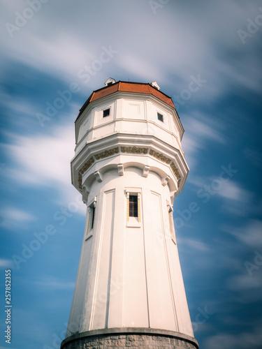 canvas print picture Wasserturm in Wiener Neustadt in Österreich