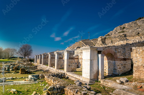 Philippi is located near the ruins of the ancient city and is part of the region of East Macedonia and Thrace in Kavala, Greece.
