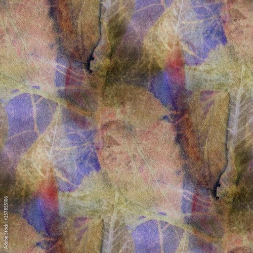 Seamless Botanical print