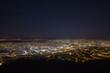 canvas print picture - Stuttgart bei Nacht