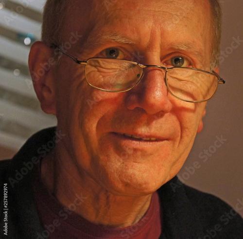 canvas print picture Portrait von Lothar Nahler