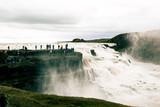 Iceland falls waterfalls in mountains