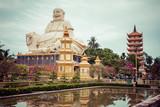 Vinh Tranh Pagoda in My Tho, the Mekong Delta, Vietnam.