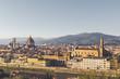 panoramica de Florencia y detalles de sus edificios