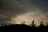 Fototapeta Fototapety na sufit - Zachód słońca w górach - Magistrala Karkonoska, Czechy,  © Iwona