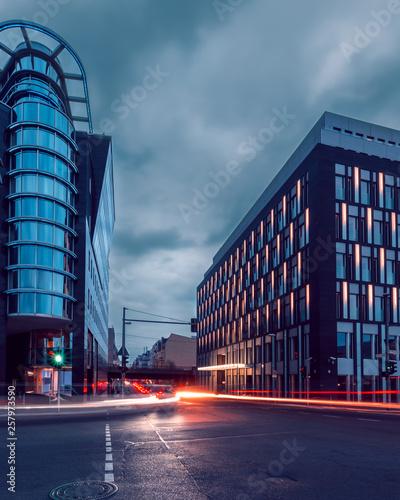 fototapeta na ścianę Berlin Mitte zur blauen Stunde