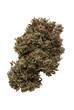 Leinwandbild Motiv Cannabis or marijuana over white