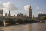 Fototapeta Big Ben - Westminster Abbey, Big Ben, House of Parliament © Lichtbildmanie