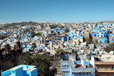The Blue City of Jodhpur seen from the Mehrangarh Fort, Jodhpur, Rajasthan, India