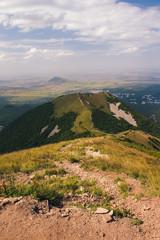 The path to the mountain Beshtau summer, clear day near Pyatigorsk. © dmitriydanilov62