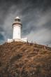 canvas print picture - Leuchturm Byron Cap in Australien