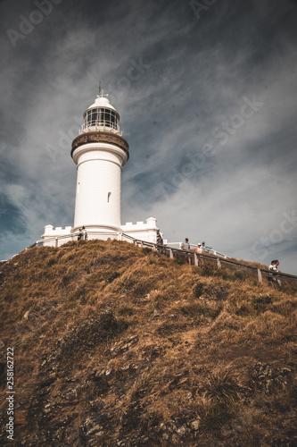 canvas print picture Leuchturm Byron Cap in Australien