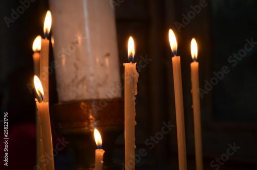Kirchenkerzen © Lea