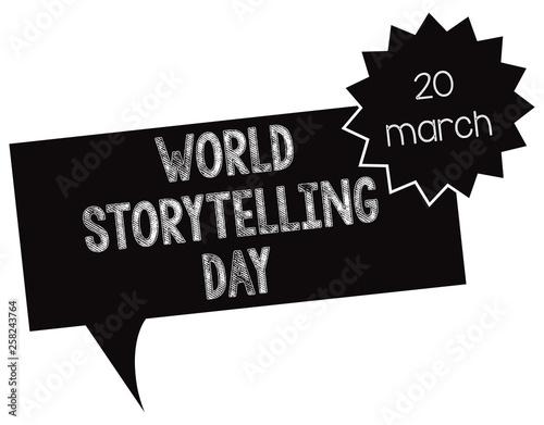 Symbol World Storytelling Day