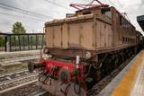 Vecchia locomotiva vintage