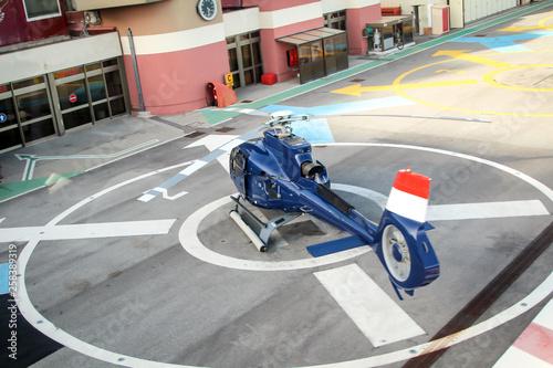 fototapeta na ścianę Details von einem Hubschrauber