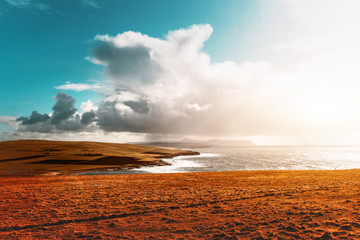 Coastline at Marwick Head - Orkney Islands, Scotland
