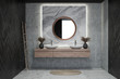 Leinwandbild Motiv Modern design bathroom interior