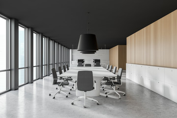 conference room in office building.