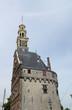 canvas print picture - Hauptturm Hoofdtoren in Hoorn, Holland