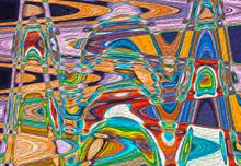 "Постер, картина, фотообои ""Absract swirled pattern painting wave design background"""