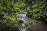 River Hornad in Slovak Paradise mountain range in Slovakia