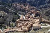 View of the medieval town Albarracin, Teruel, Aragon, Spain. - 258556969
