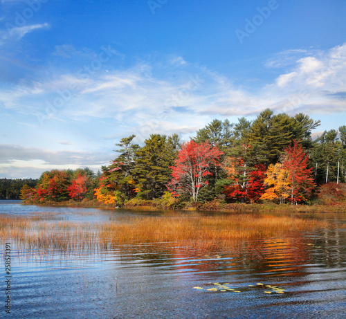 Autumn At Somes Pond © Paul Lemke
