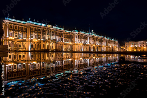 canvas print picture Winterpalast in St. Petersburg