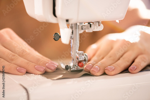 Process of sewing - 258604745