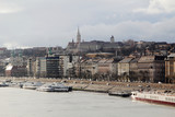 View of central part of Budapest, Hungary