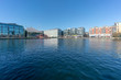 Panoramic view at Grand Canal Dock,a Southside area near the city centre of Dublin, Ireland. - 258682527
