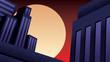Superhero Background Night - 258689335