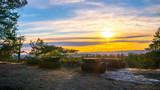 Fototapeta Room - Østmarka widok na Oslo Norway Norge Norwegia landscape krajobraz utsikt © Marcin