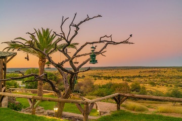 Luxus Lodge nahe Windhoek Namibia © Ado Filmchen