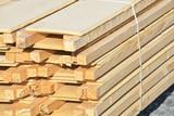 Fototapeta Fototapeta las, drzewa - construction batir maison logement immobilier bois © JeanLuc