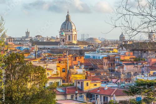 fototapeta na ścianę Rome city view from the Pincio Terrace