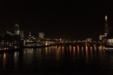 London view over the Thames