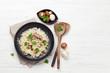 Delicious mushrooms risotto - 258749973