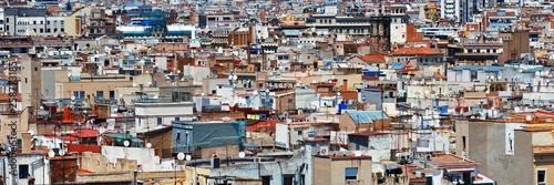 Barcelona building background - 258773185