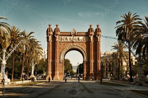 canvas print picture Arc de Triomf Barcelona