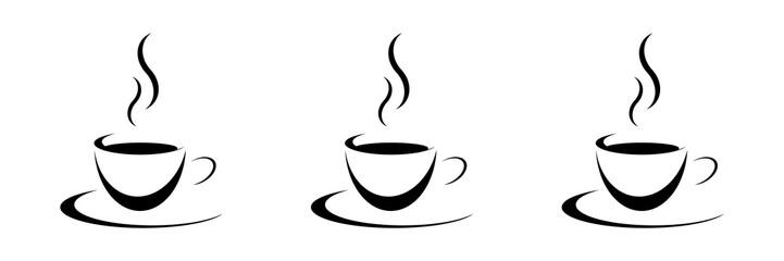 3 Tassen Kaffee schwarz © poinz
